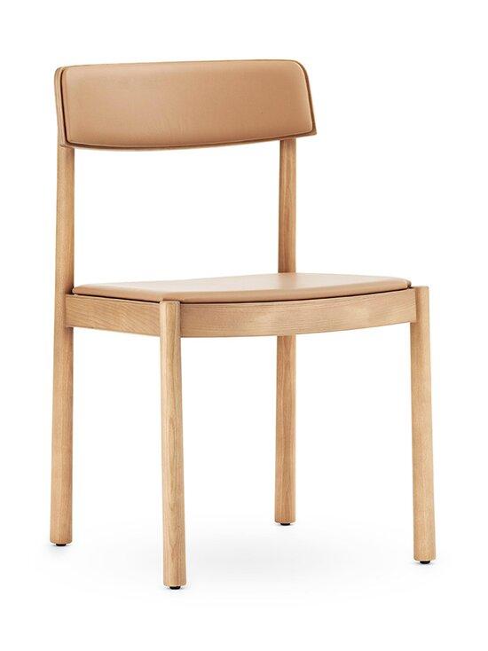 Normann Copenhagen - Timb Chair -tuoli, nahkaverhoilu - TAN/ ULTRA LEATHER - CAMEL | Stockmann - photo 1