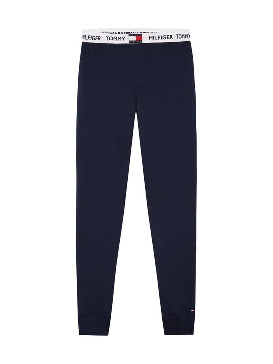 Tommy Hilfiger - Logo Waistband Organic Cotton Joggers -pyjamahousut - CHS NAVY BLAZER   Stockmann - photo 1