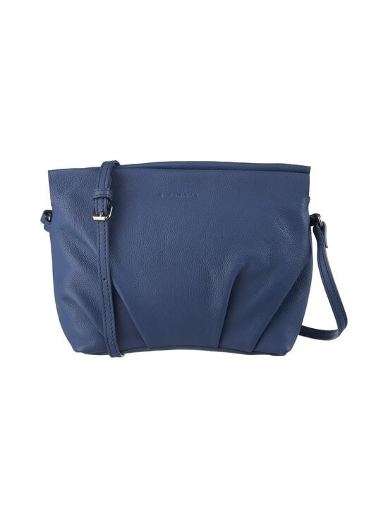 A+more - Selma Pleated Crossbody -nahkalaukku - BLUE | Stockmann - photo 1