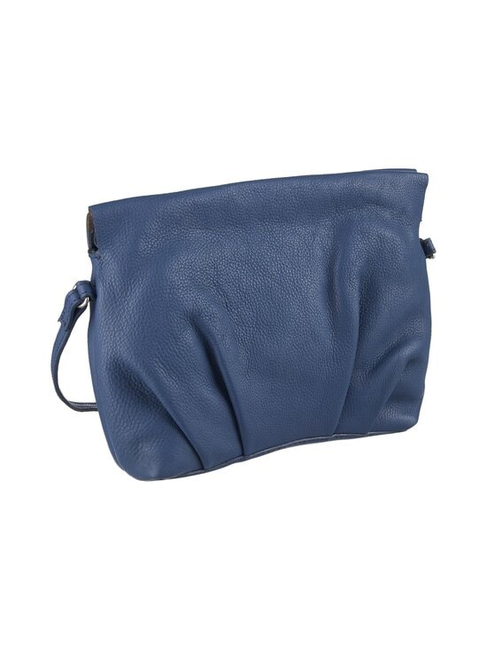 A+more - Selma Pleated Crossbody -nahkalaukku - BLUE | Stockmann - photo 2