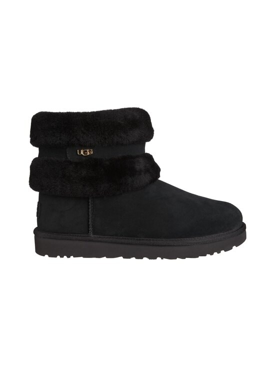 UGG - Fluff Mini Belted Boot -nilkkurit - BLACK | Stockmann - photo 1