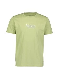Makia - Strait T-Shirt -paita - 715 LIGHT GREEN | Stockmann