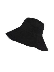 KN Collection - Kalla-pellavahattu - 33 BLACK   Stockmann