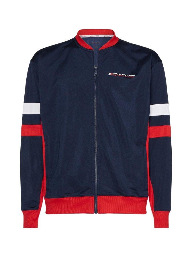 Colour-Blocked Track Jacket -takki