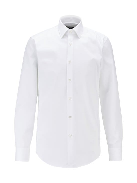 BOSS - Jango-kauluspaita - 100 WHITE | Stockmann - photo 1