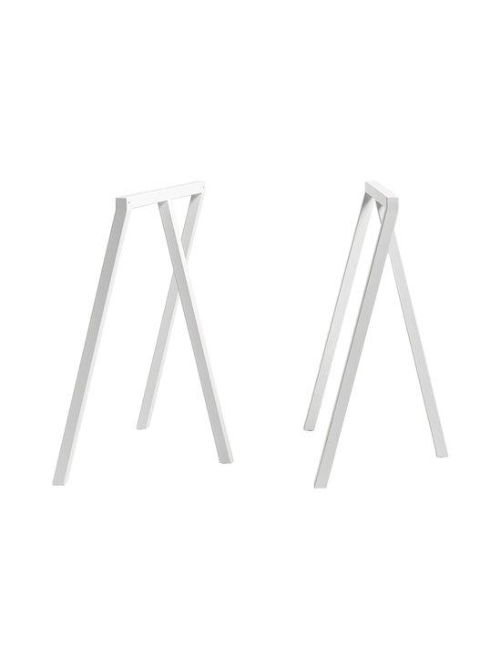 HAY - Loop Stand -pukkijalat 64,5 x 37 x 72 cm - VALKOINEN | Stockmann - photo 1