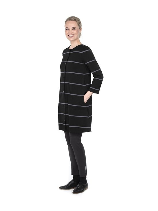 Ritva Falla - Caserta-jakku - 009S BLACK STRIPE | Stockmann - photo 2