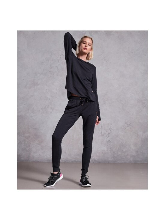 Superdry Sport - Active Studio Luxe Joggers -housut - AZB BLACK MARL | Stockmann - photo 2