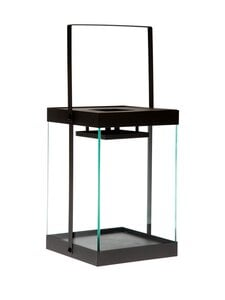 Blomus - Finca Lantern M -lyhty 36 x 20,5 x 21 cm - STEEL GREY   Stockmann