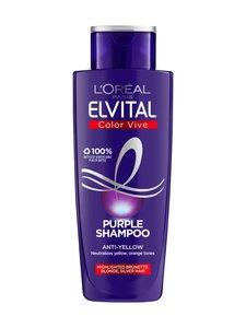 L'Oréal Paris - Elvital Color Vive Purple -hopeashampoo 200 ml | Stockmann
