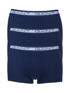 GANT - Basic Trunk -bokserit 3-pack - 423 PERSIAN BLUE | Stockmann