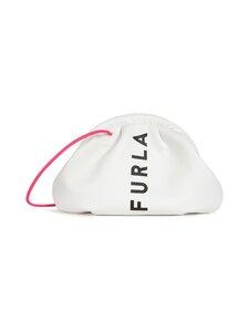 Furla - Essential S Clutch -nahkalaukku - 0398S TALCO H+NERO+FUXIA | Stockmann