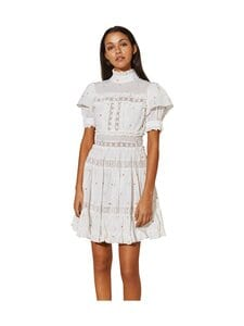By Malina - Iro Mini Dress -mekko - WHITE | Stockmann