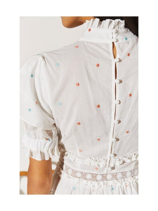By Malina - Iro Mini Dress -mekko - WHITE | Stockmann - photo 3
