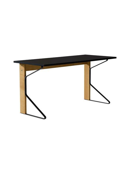 Artek - REB005 Kaari -työpöytä, HPL - BLACK GLOSSY/NATURAL OAK (MUSTA/TAMMI) | Stockmann - photo 1