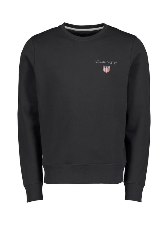 GANT - Medium Shield Crew -collegepaita - 5 BLACK | Stockmann - photo 1
