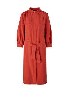 Comma - Shirt Dress -mekko - 2820 RUST BROWN | Stockmann