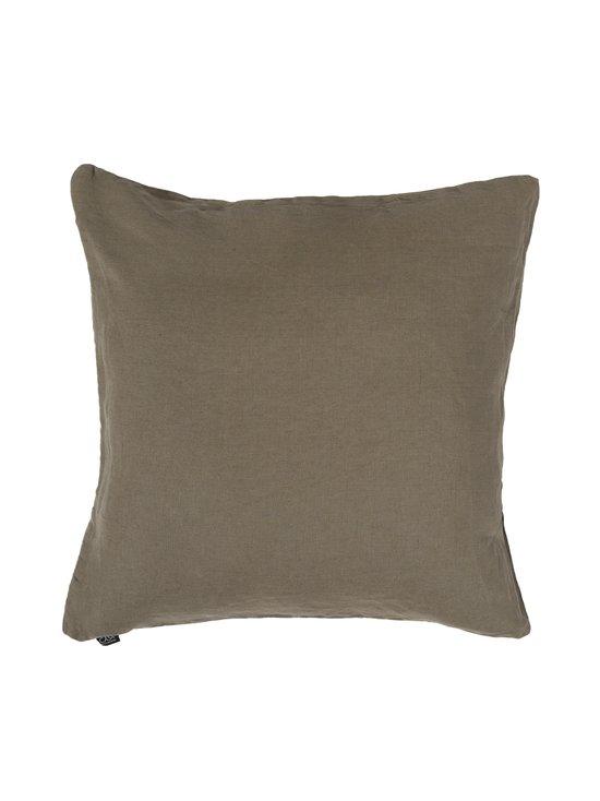 Casa Stockmann - Linen-tyynynpäällinen 50 x 50 cm - MISTY KHAKI   Stockmann - photo 1