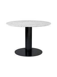 Gubi - 2.0-pöytä Ø 110 cm - WHITE CARRARA MARBLE   Stockmann