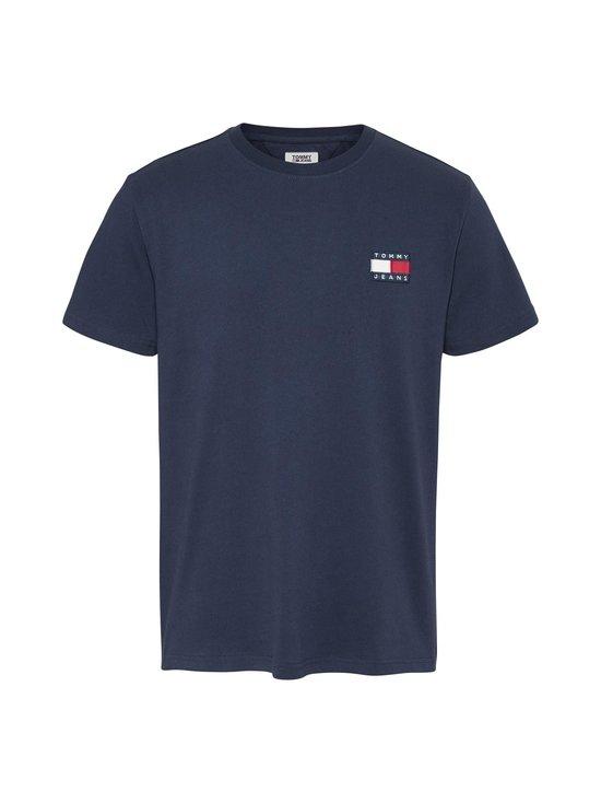 Tommy Jeans - Tommy Badge Organic Cotton T-Shirt -paita - C87 TWILIGHT NAVY | Stockmann - photo 1