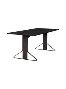 Artek - REB001 Kaari -pöytä, HPL - BLACK GLOSSY/BLACK OAK (MUSTA) | Stockmann