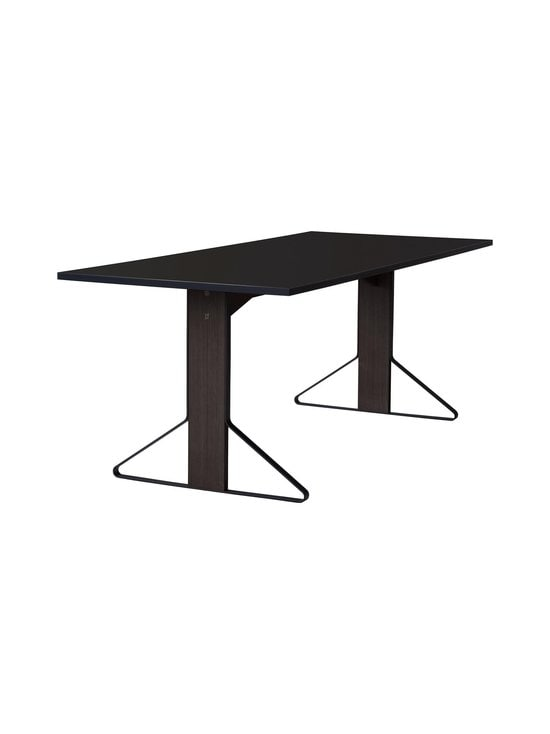 Artek - REB001 Kaari -pöytä, HPL - BLACK GLOSSY/BLACK OAK (MUSTA) | Stockmann - photo 1