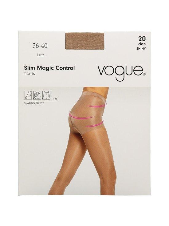 Vogue - Slim Magic Control 20 den -sukkahousut - LATTE (VAALEANRUSKEA) | Stockmann - photo 1