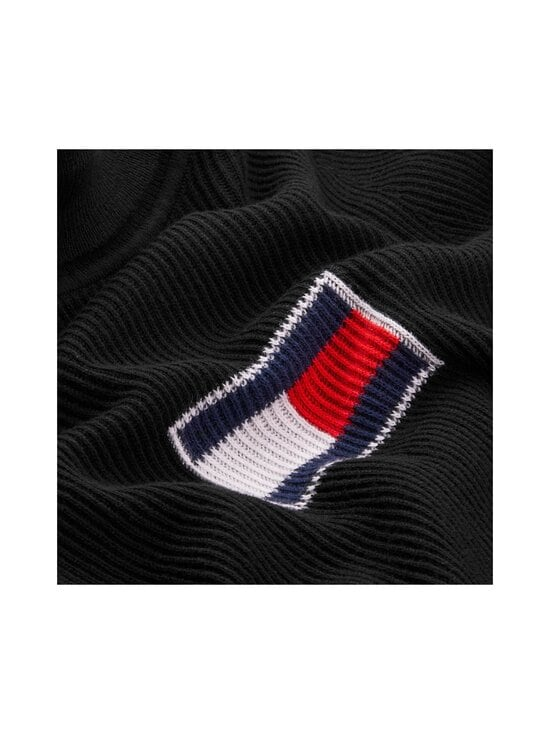 Tommy Jeans - Tommy Flag Roll Neck -pooloneule - BDS BLACK | Stockmann - photo 3