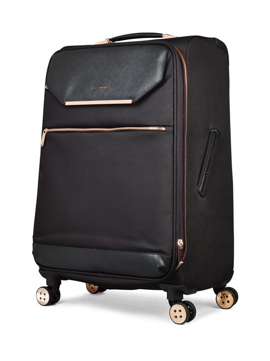 Ted Baker London - Albany Medium 4 Wheel Trolley -matkalaukku - BLACK/ROSEGOLD | Stockmann - photo 2
