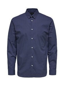 Selected - SlhSlimMichigan-kauluspaita - DARK BLUE | Stockmann