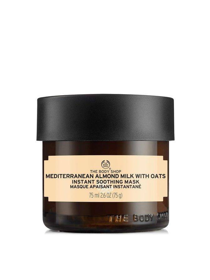 Mediterranean Almond Milk With Oats Instant Soothing Mask -kasvonaamio 75 ml