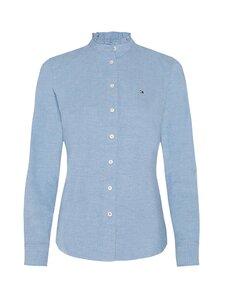 Tommy Hilfiger - Ruffled Collar Regular Fit -paitapusero - DY5 DAYBREAK BLUE | Stockmann