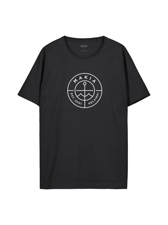 Makia - Re-Scope T-Shirt -paita - 999 BLACK   Stockmann - photo 1