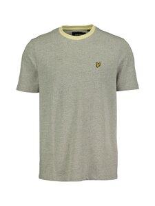 Lyle & Scott - Yarn Mix T-Shirt -paita - W431 LEMON/ WHITE | Stockmann