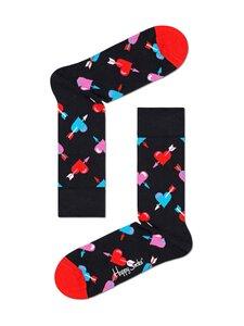 Happy Socks - Heart-sukat - 9300-BLACK | Stockmann