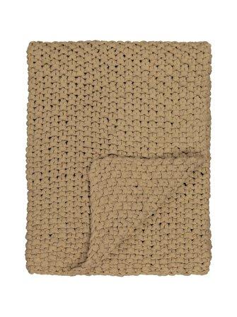 Drottningholm cotton blanket 130 x 170 cm - Linum