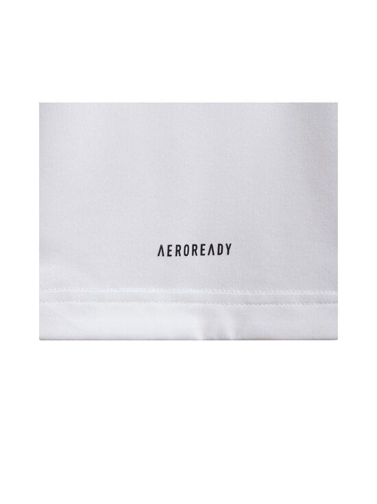 adidas x Marimekko - Primegreen Aeroready pitkä T-paita - WHITE/VIVRED | Stockmann - photo 4