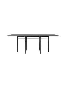 Menu - Snaregade-ruokapöytä 200 x 90 cm - BLACK OAK, BLACK | Stockmann
