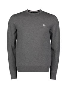 Fred Perry - Classic Crew Neck Jumper -neule - GRAPHITE MARL | Stockmann