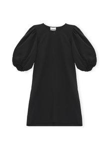 Ganni - Heavy Crepe Mini Dress -mekko - BLACK 099 | Stockmann