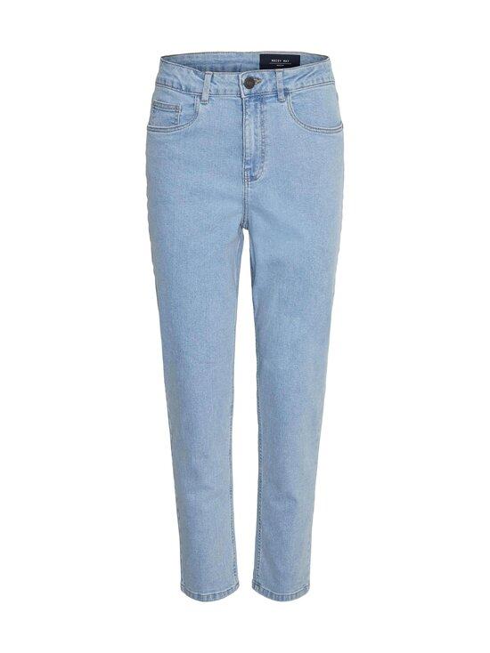 Noisy may - NmKaty HW Slim Mom Jeans -farkut - LIGHT BLUE DENIM | Stockmann - photo 1