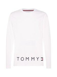 Tommy Hilfiger - Corp Logo Hem Long Sleeve Tee -paita - YBR WHITE | Stockmann