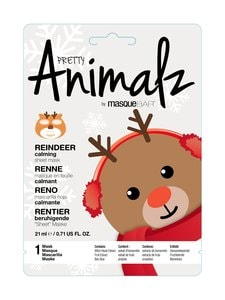 Masque Bar - Pretty Animalz Holiday Reindeer Calming Sheet Mask -kasvonaamio - null | Stockmann