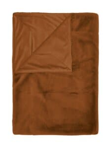 Essenza - Furry Plaid -torkkupeitto 150 x 200 cm - LEATHER BROWN | Stockmann
