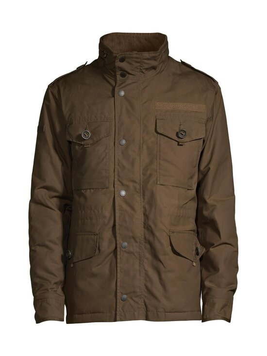 Superdry - Waxed Field -takki - D35 BARK | Stockmann - photo 1
