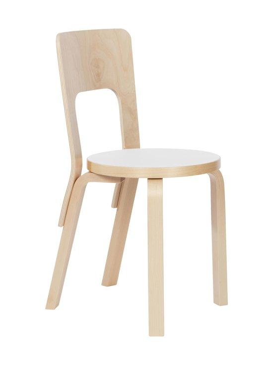 Artek - 66-tuoli, koottu - LAKATTU KOIVU / VALKOINEN LAMINAATTI | Stockmann - photo 1