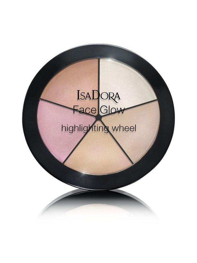 Face Glow Highlighting Wheel -hohdeväripaletti 18 g