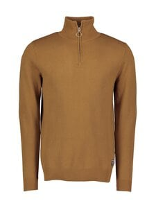 Jack & Jones - JorEli Knit High Neck -puuvillaneule - RUBBER | Stockmann