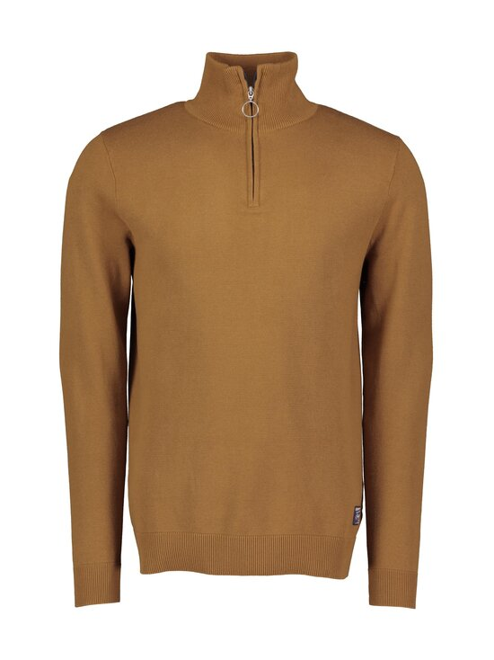 Jack & Jones - JorEli Knit High Neck -puuvillaneule - RUBBER | Stockmann - photo 1