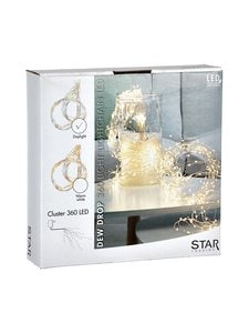 Star - Dew Drop 360-Light Lightchain LED -valosarja - VALKOINEN | Stockmann